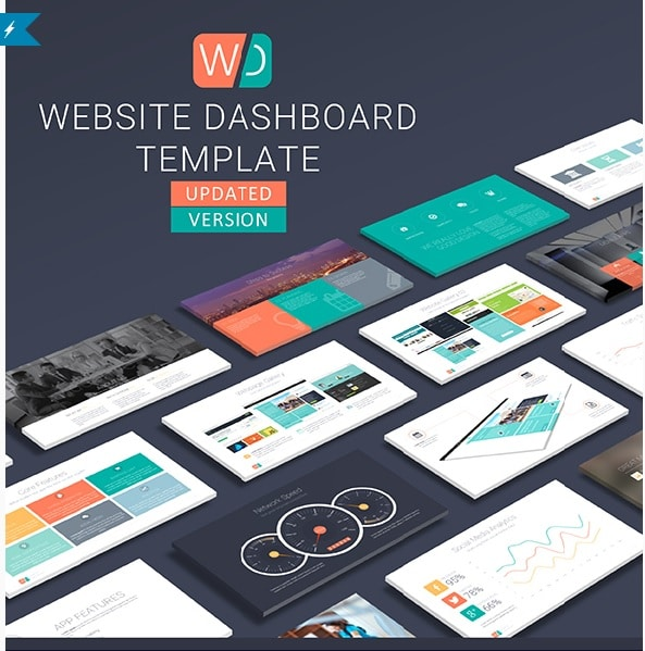 Website Dashboard Presentation