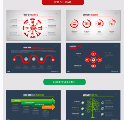presenttion infographic