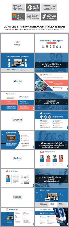 Web Design & Development Company Web Agency Web Designer Premium Multipurpose Business PowerPoint Presentation_Image Preview