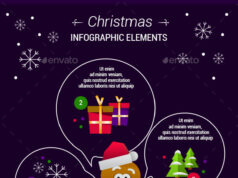 Gingerbread Man Infographic Elements590