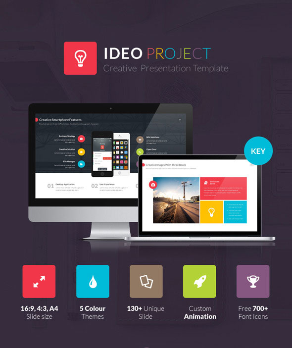 10 amazing keynote templates for 2015 for Ideo company