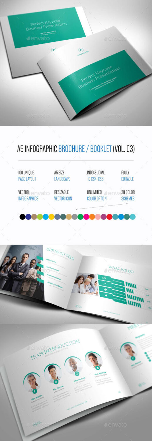 Creative Infographic Brochure Templates For Business - Infographic brochure template