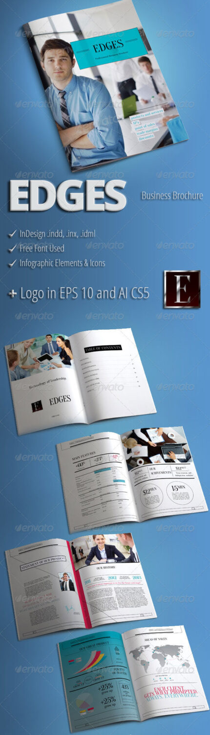Infographic Modern Business Brochure Template