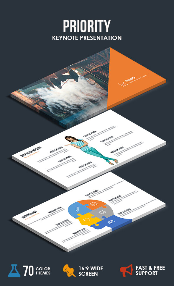 Priority - Keynote Presentation Template
