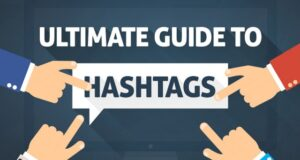 Guide to hastags infographic