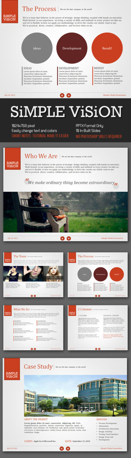 Case Study PowerPoint Template         Free Case Study PowerPoint     Powerpoint Bundle   PowerPoint Templates Presentation Templates