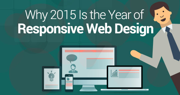 2015 is the year of RWD (responsive design) – infographic
