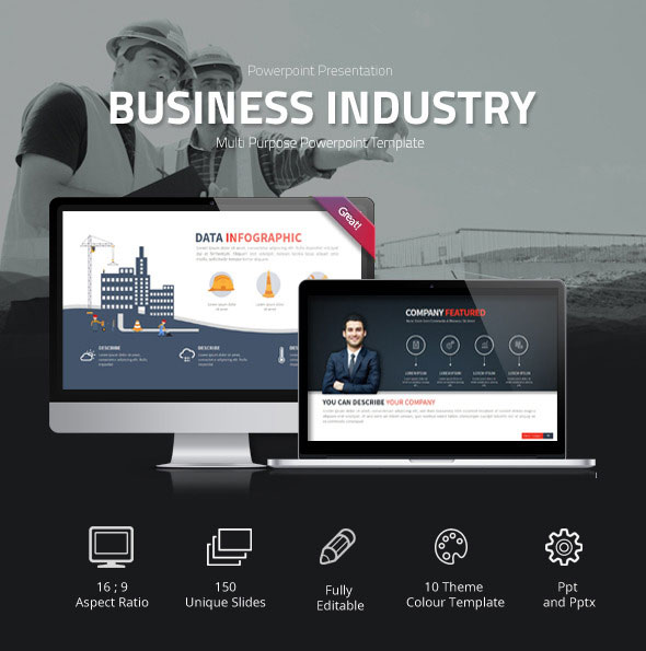 Business Industry Powerpoint Presentation