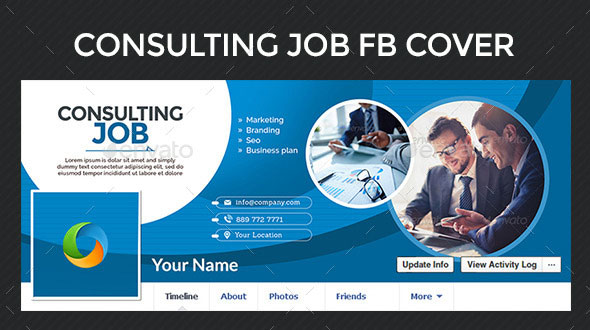 consulting facebook cover