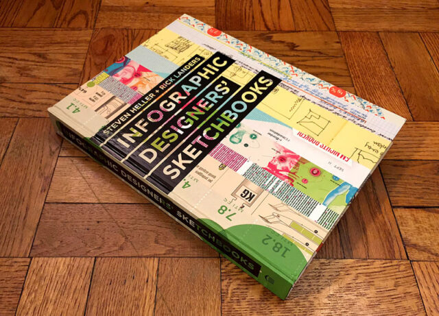 Infographic Book - Infographics Designers' Sketchbooks by Steven Heller and Rick Landers
