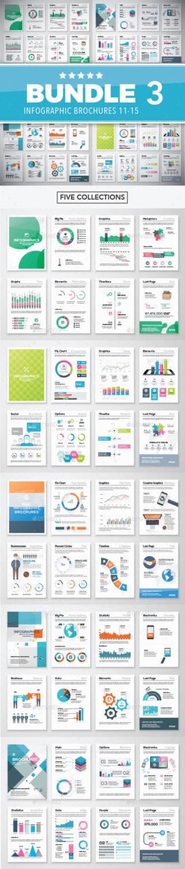 Infographic templates bundle