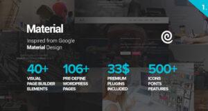 material-design-wordpress