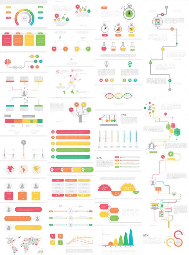 Mega Infographic Set
