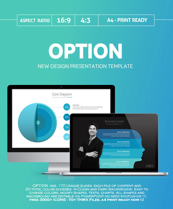Option Business Powerpoint Presentation template