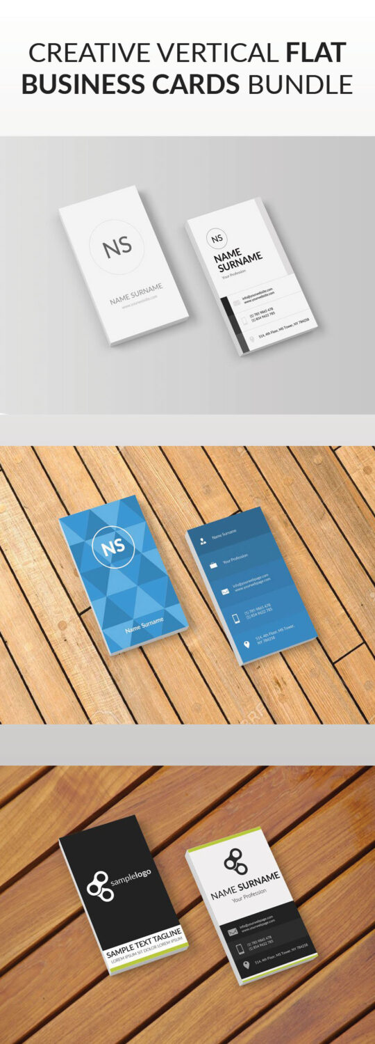 FLAT-business-cards-bundle