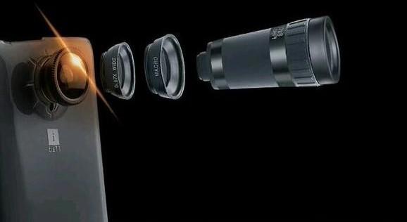 4 detachable lenses