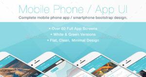 Flat-Mobile-Phone-App-UI-Demo