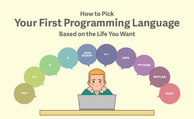 How To Pick Your 1st Programming Language?