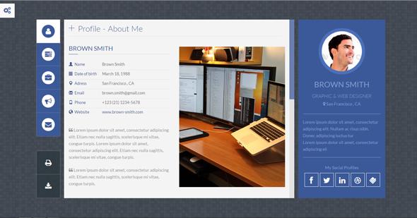 Online vcard viewer