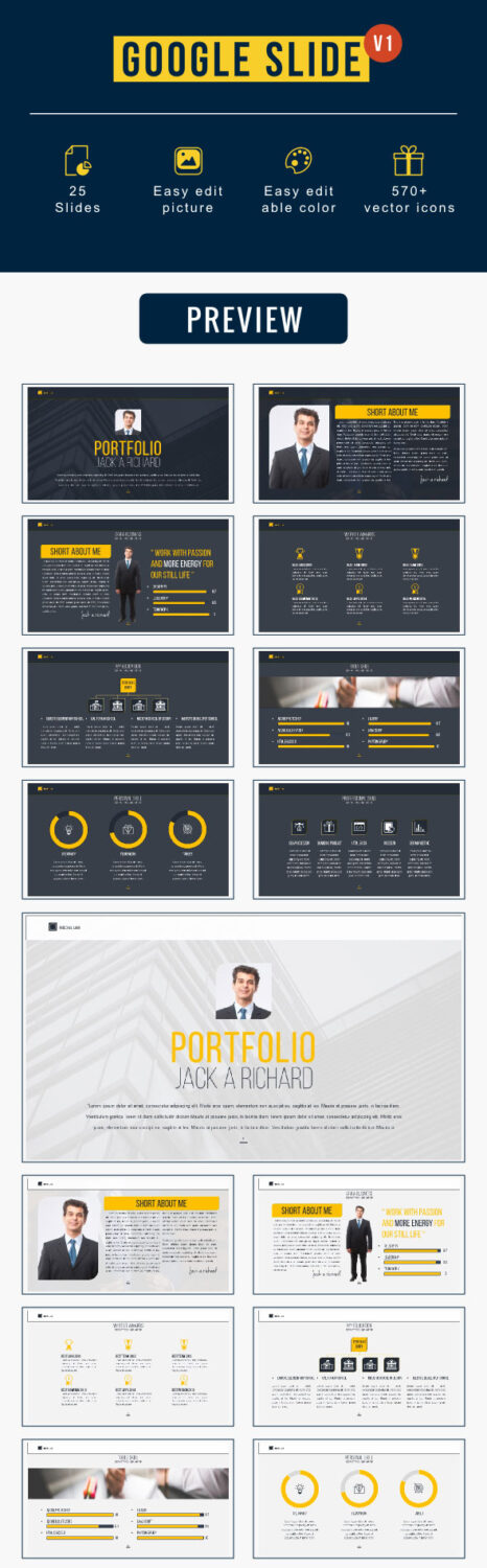 Top Google Slides Presentation Templates - Slide templates for google