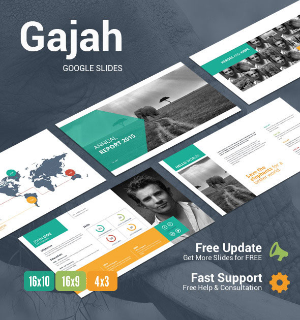 Gajah google slides presentation