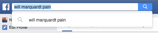 searching posts on facebook