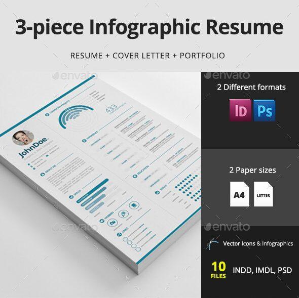 3-Piece Infographic Resume