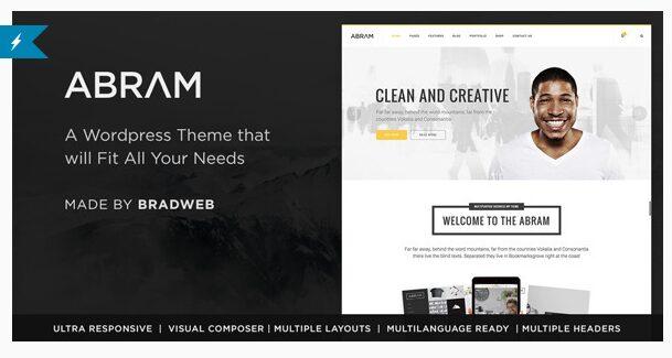 Abram - WordPress Themes for 2016