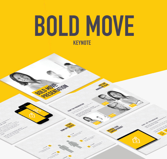 Bold Move Keynote Template for 2016