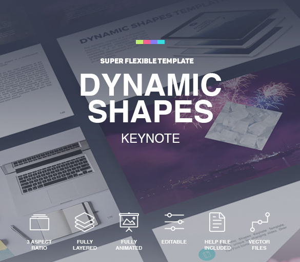 Dynamic Shapes Keynote Template For 2016