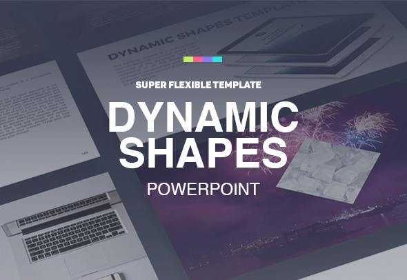 Dynamic Shapes Flat Powerpoint Presentation