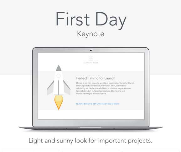 First Day Keynote Template For 2016