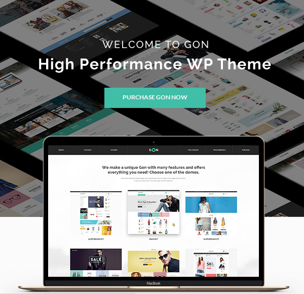 Gon - WordPress Themes for 2016