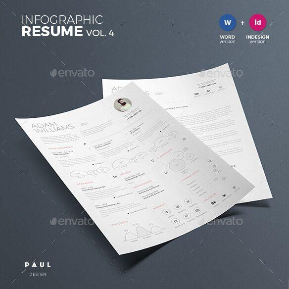 Infographic Resume Vol 4