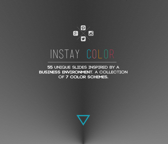 Instay Color Flat Powerpoint Presentation