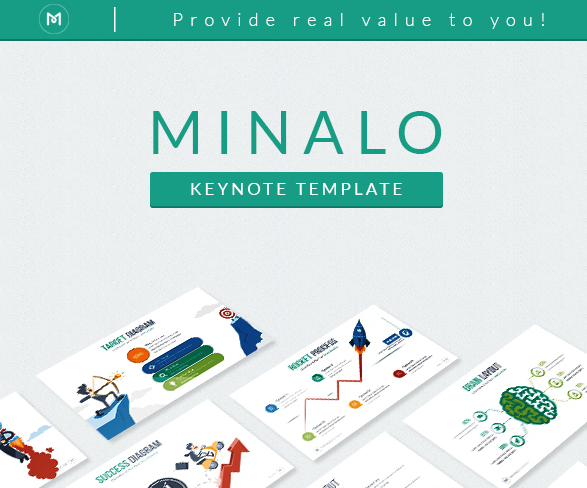 Minalo Keynote Template For 2016
