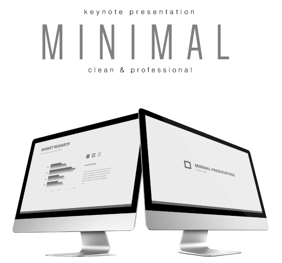 Minimal Keynote Template For 2016