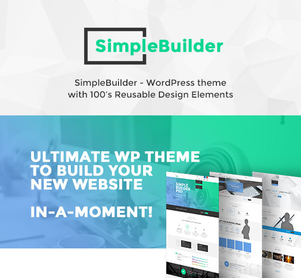 SimpleBuilder - WordPress Themes for 2016