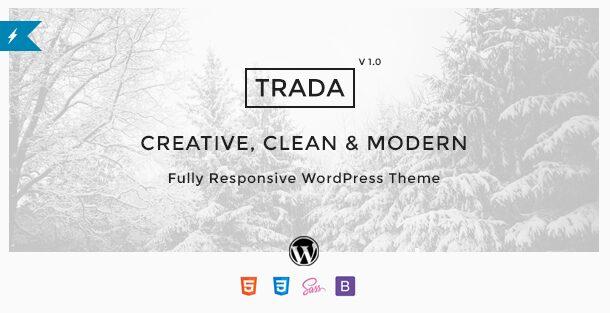 Trada - WordPress Themes for 2016