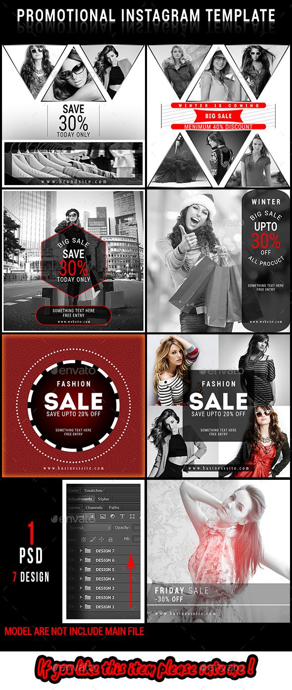 promotional instagram ad