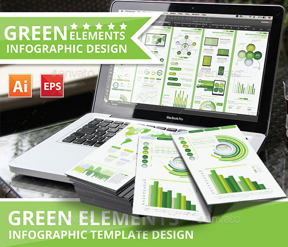 Preview-Green-Info-graphic-elements-design