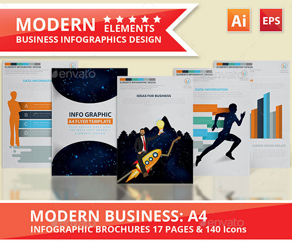 Modern Business Infographics Design