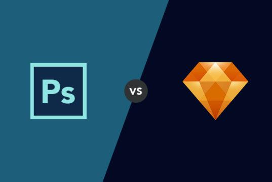 sketch vs photoshop