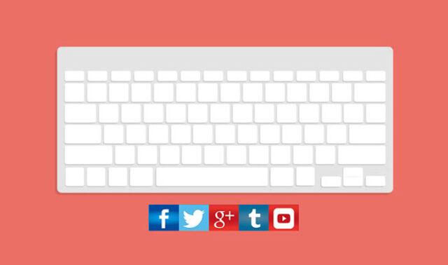 social media keyboard shortcuts featured