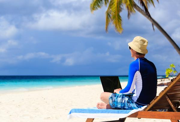 work-on-beach