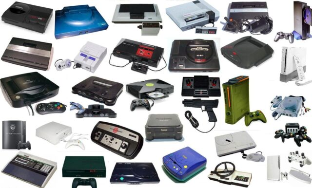 gaming consoles