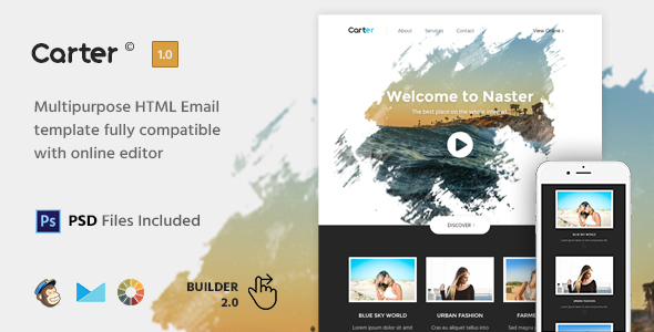 Carter - HTML Email Template