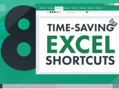 8 time saving shortcuts for Excel featured