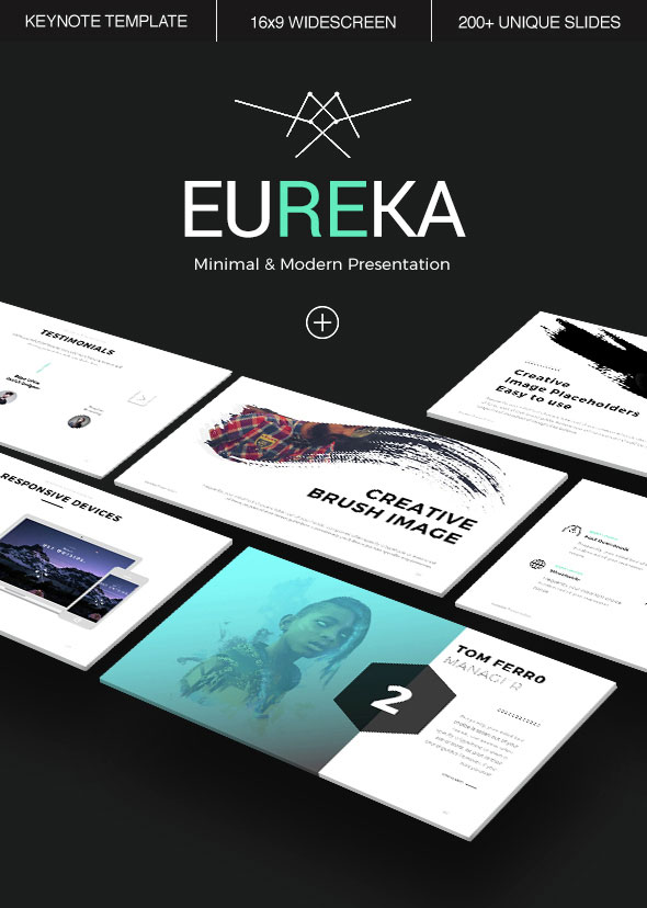 Eureka keynote template