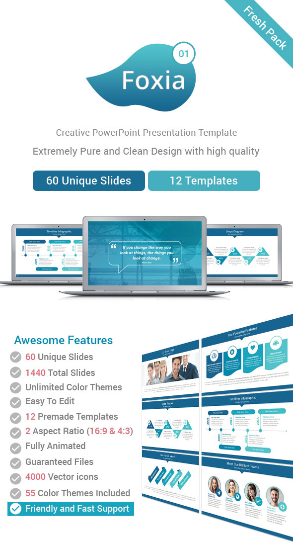 foxia powerpoint template